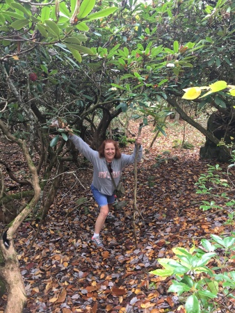 Kathy on Trail